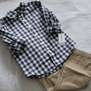 NWT - Boys 2 Piece Carter's Casual Outfit